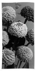 Zinnia Lilliput Flowers Beach Towel