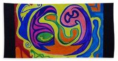 Zodiac #69 Beach Towel