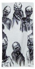 Zombies Beach Towel