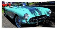 55 Corvette Beach Sheet