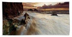 Llanddwyn Island Beach Beach Towel