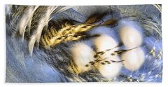 Promise Me Spring Will Come - Abstract Art Beach Sheet