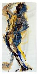 04805 Dancer Beach Sheet by AnneKarin Glass
