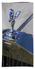 Beach Towel featuring the photograph 1965 Rolls Royce Silver Cloud IIi Mpw Coupe by Gordon Dean II