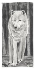 Arctic Wolf Beach Sheet