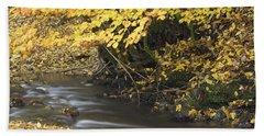 Autumn Flow Beach Towel