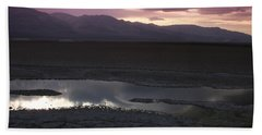 Badwater Basin Death Valley National Park Beach Towel