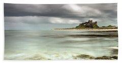 Bamburgh Castle Bamburgh Northumberland Beach Towel