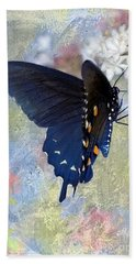 Butterfly Love Beach Towel by Betty LaRue