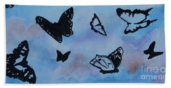 Chasing Butterflies Beach Sheet