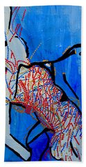 Dinka Corset - Manlual - South Sudan Beach Towel