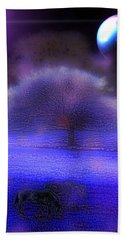 Beach Towel featuring the digital art Es War Einmal - Once Upon A Time by Mimulux patricia No