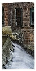 Beach Towel featuring the photograph Little River Dam by Betty Denise