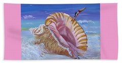 Magic Conch Shell Beach Sheet