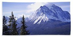 Mountain Landscape Beach Towel