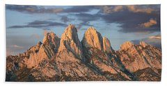 Organ Mountains Near Las Cruces New Beach Towel