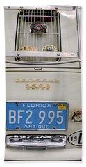 Porsche 1600 Super 1959 Rear View. Miami Beach Sheet