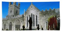 St Marys Cathedral, Co Limerick, Ireland Beach Towel