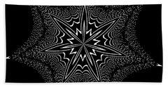 Star Fish Kaleidoscope Beach Sheet