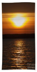 Beach Towel featuring the photograph Sunrise On Seneca Lake by William Norton