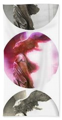 The Winged Victory - Paris - Louvre Beach Towel
