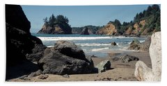 Trinidad Beach Beach Sheet by Sharon Elliott