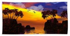 Trinidad Beach Towel by Robert Orinski