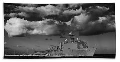 Uss Fort Mchenry Beach Towel