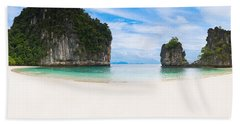White Sandy Beach In Thailand Beach Sheet