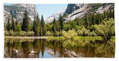 Yosemite Beach Sheet by Carol Ailles