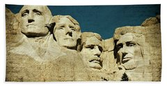 150 Years Of American History Beach Towel
