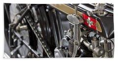 1923 Condor Motorcycle Beach Towel