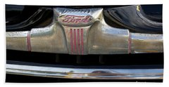 1940s Ford Grill Beach Towel