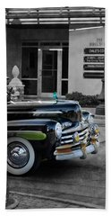 1940s Ford Out Of The Past Beach Towel