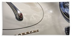 Beach Sheet featuring the photograph 1954 Porsche 356 Speedster by Gordon Dean II