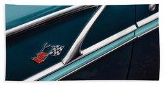 Beach Sheet featuring the photograph 1958 Chevrolet Bel Air by Gordon Dean II