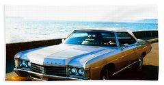 1971 Chevrolet Impala Convertible Beach Towel