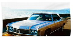 Beach Sheet featuring the photograph 1971 Chevrolet Impala Convertible by Sadie Reneau