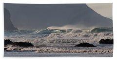 Porthtowan Cornwall Beach Towel