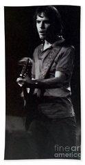 Bob Weir Of The Grateful Dead Beach Towel by Susan Carella