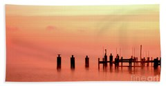 Beach Towel featuring the photograph Eery Morn by Clayton Bruster