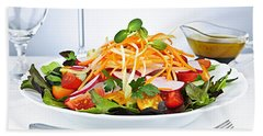 Garden Salad Beach Towel