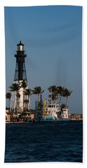 Hillsboro Inlet Lighthouse Beach Towel