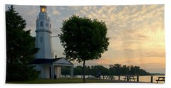 Kimberly Point Lighthouse Beach Sheet