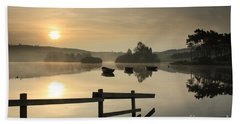 Knapps Loch Sunrise Beach Towel