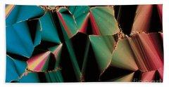 Liquid Crystalline Dna Beach Towel