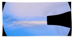 Schlieren Image Of A Hair Dryer Beach Towel