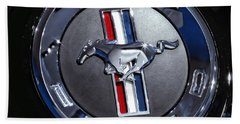 2012 Ford Mustang Trunk Emblem Beach Sheet