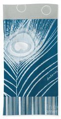 Balance Beach Towel by Linda Woods