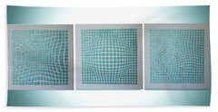 3 Illusions Beach Sheet by Dolores  Deal